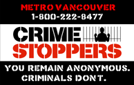 Metro Vancouver Crime Stoppers